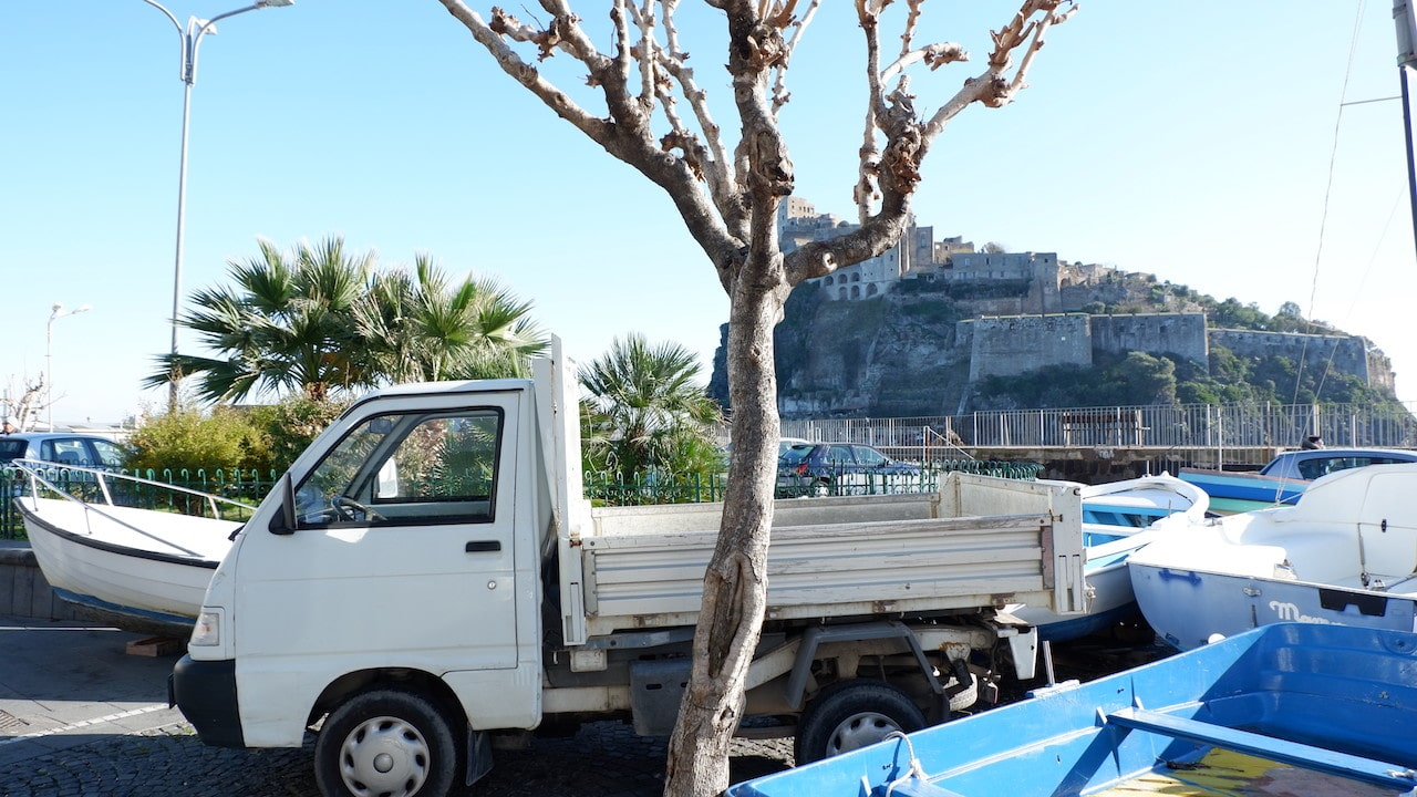 Ischia, our new home